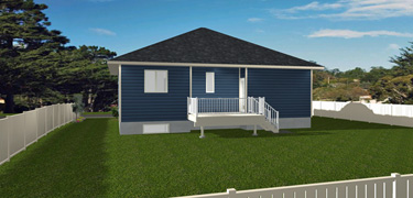 Bungalow House Plans Without Attached Garage - Edesignsplans.ca on