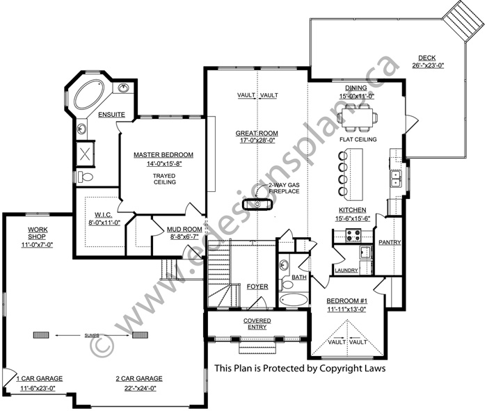 bungalow house plan 2011556