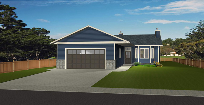 Bungalow house plan 2012606 for Edesign plans