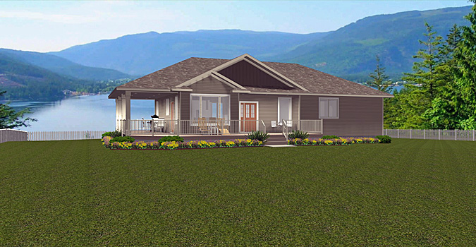 Bungalow house plan 2014795 for Edesign plans