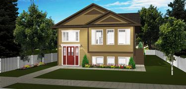 Narrow Lot Plans - Edesignsplans.ca on