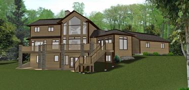 House plans walkout basement canada