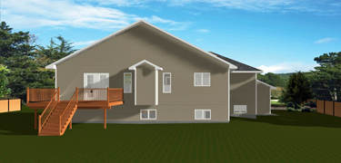 House plans with a 3 car garage for Edesign plans