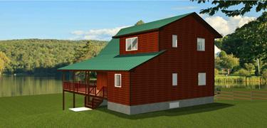 Cottage cabin house plans for Edesign plans