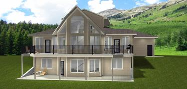 Acreage - Farmhouse House Plans - Edesignsplans.ca on wooden ranch gate designs, ranch entry designs, modern raised ranch house designs,