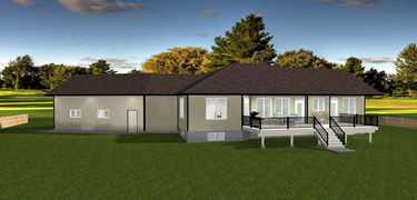 House Plans with Angled Garage - Edesignsplans.ca on