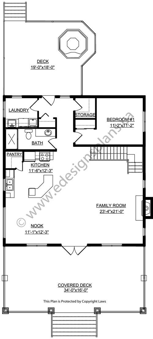 2 storey house plan 2009461 for Edesign plans