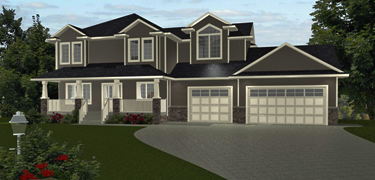 2-Storey House Plans by edesignsplans.ca