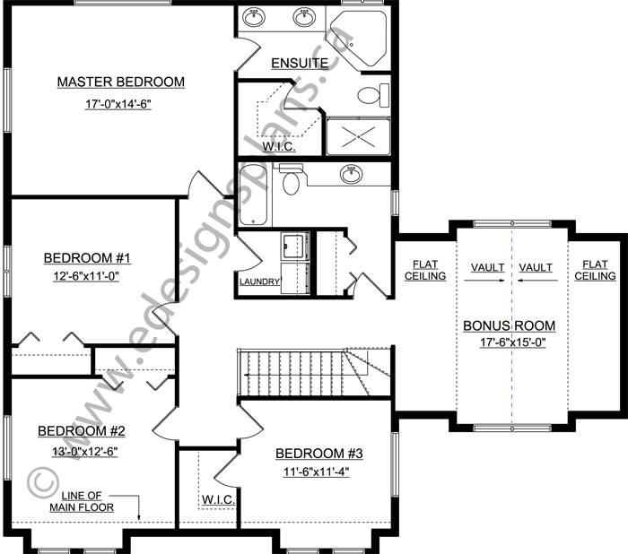 2 storey house plan 2013683 by for Edesign plans