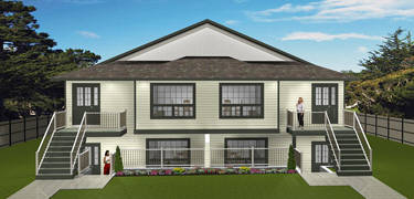 4 plex plans by for Manitoba house plans