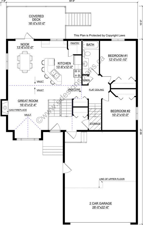 Bi level plan 2008401 for Edesign plans