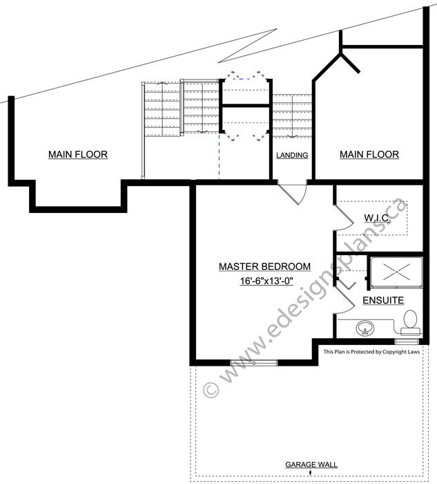 Collection of modified bi level floor plans 6 bedroom Modified bi level home plans