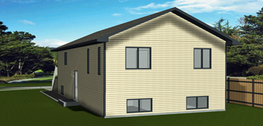 Bi level house plans without garage by for House plans manitoba