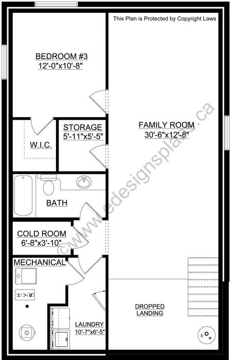 A Bi Level Home Gets A Charming Makeover In Washington Dc: Bi-Level Plan 2016983
