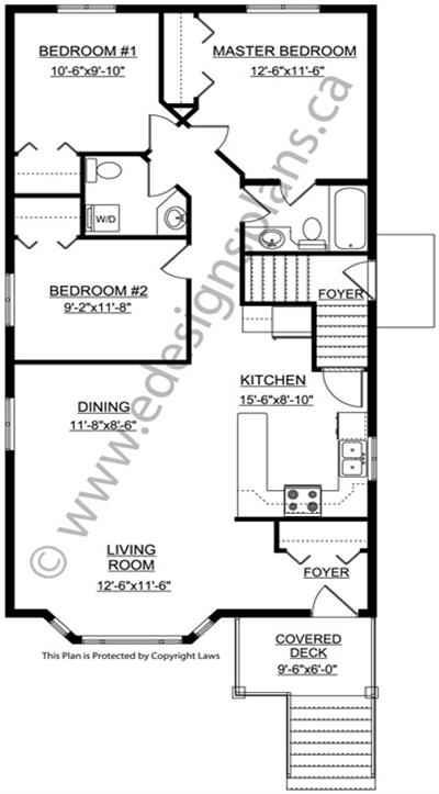 duplex plan 2012628 by