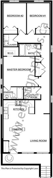 Duplex plan 2012671 by for Edesign plans