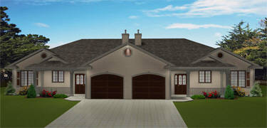 Peachy Duplex Plans Floor Plans Multi Family Plans Edesignsplans Ca Home Interior And Landscaping Palasignezvosmurscom
