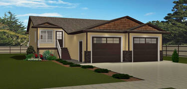 Duplex plans floor plans and multi family plans for Up and down duplex plans