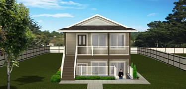 Duplex plans floor plans multi family plans for Duplex plans canada