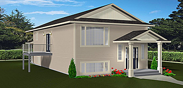 Home plans with basement suites by for House plans with income suite