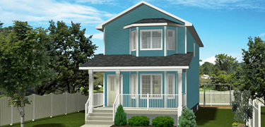 2-Storey House Plans Without Garage