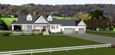 Acreage & Farmhouse Plans