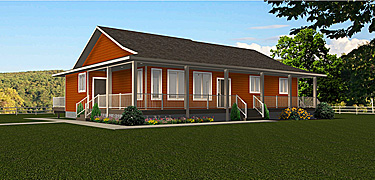 Bungalow House Plans Without Garage